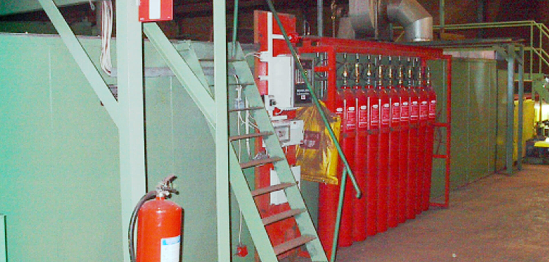 Fire extinguishing systems - inTEC