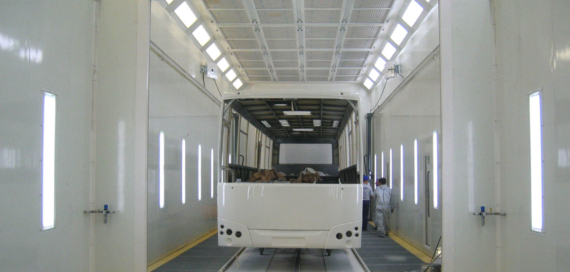 Combi spray booths - inTEC