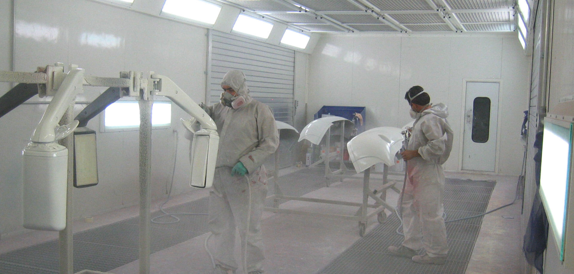 Spray booths - inTEC