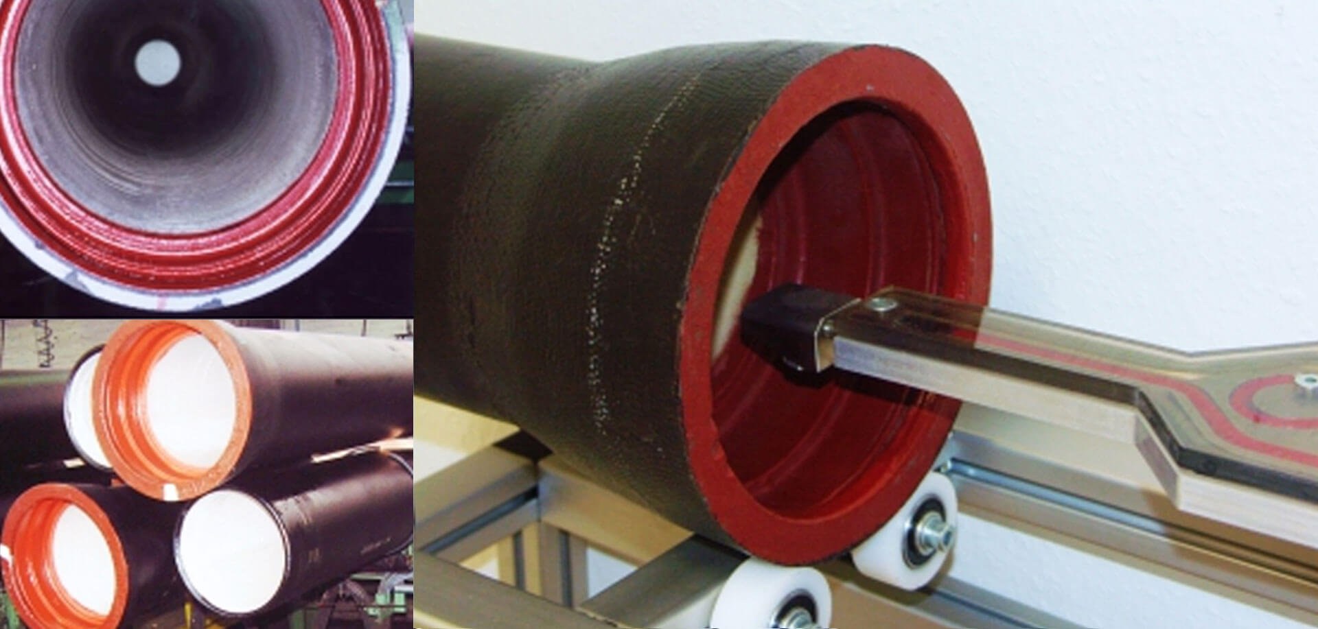 Inner coating of pipes - InTEC