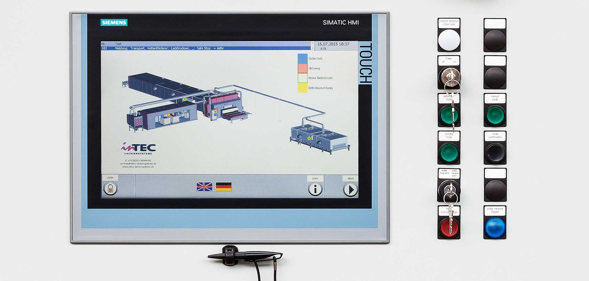 Control systems - inTEC