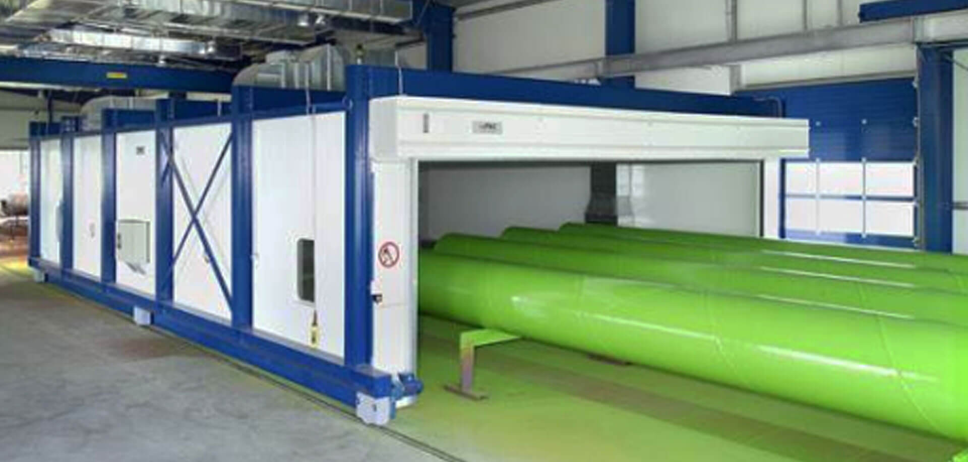 Moveable drying system - inTEC